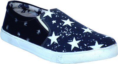 Reveller Reveller Blue Star Shoes Canvas Shoes