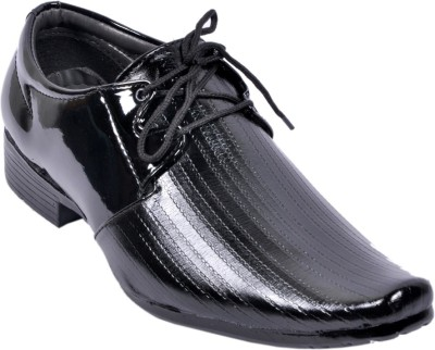 Wave Walk Cool Black Casual Shoes
