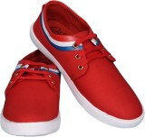 Arrival Canvas Shoes (Red)