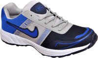 Hitcolus Light Grey Grey & Royal Blue Running Shoes(Grey, Blue) best price on Flipkart @ Rs. 499