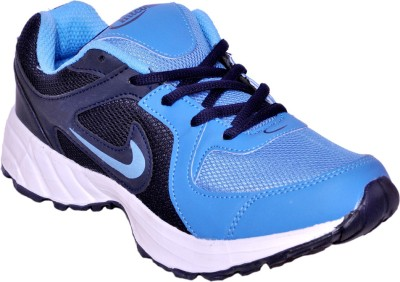 Hitcolus Navy Blue & Sky Blue Running Shoes, Walking Shoes