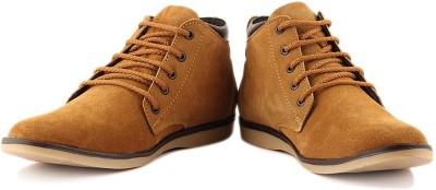 Anupamaa High Toe Tan Boots