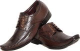 Shoe Mate Sm281 Lace Up Shoes (Brown)
