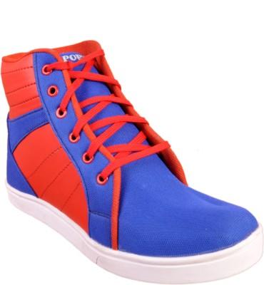 Walk Free Sea Blue Canvas Shoes