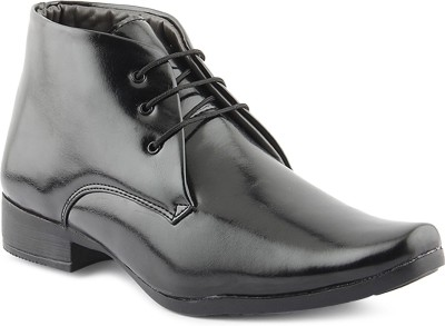 Kohinoor Black Lace Up Shoes