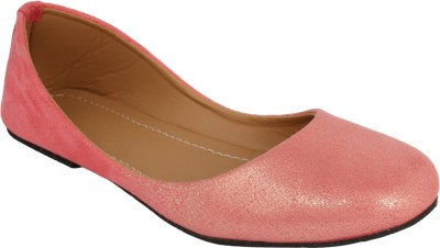 Authentic Vogue Authentic Glossy Pink Ballerinas Bellies