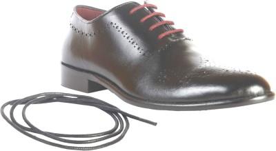 Urban Nation Single Piece Leather Brogue Shoe Lace Up