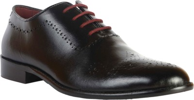 Urban Nation Urban Nation Classic Single Piece Leather Luxurious Lace up Men shoe Lace Up