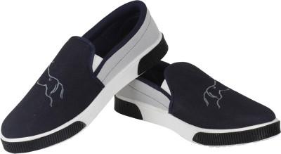 Vivaan Footwear Blue-132 Casual Shoes