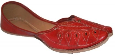 Authority Red Leather Cut Jutis