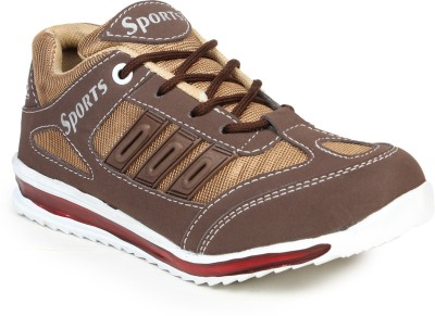 Do Bhai Brown Running Shoes