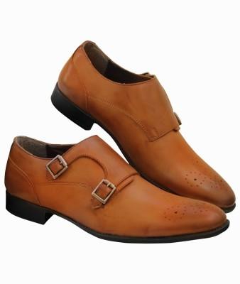 Moladz AUSTIN Monk Strap Shoes