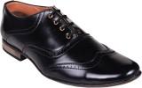 Shoebook Brogue Shoes Lace Up (Black)