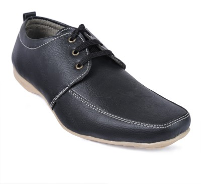 Windus Black Derby Casual Shoes