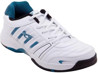 Prozone Men Light Weight White Green Sports Running Shoes