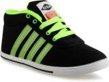 Casper Pu-Slim Casual shoe (Black, Green...