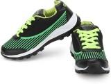 Provogue Running Shoes (Black, Green)