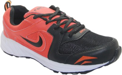 Stepin Soles Galaxy-2 Red/Black Running Shoes