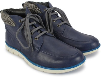 Knotty Derby Boots(Blue)