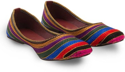 Tradition India Ethnic Rajasthani Designer Embriodered Jutti Mojri Clogs