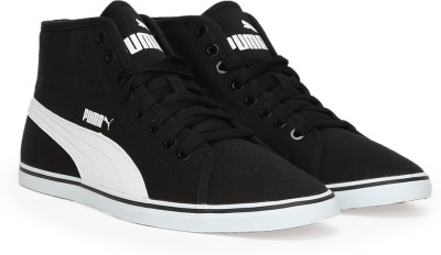 Puma Elsu v2 Mid CV IDP Mid Ankle Sneakers(Black) at flipkart