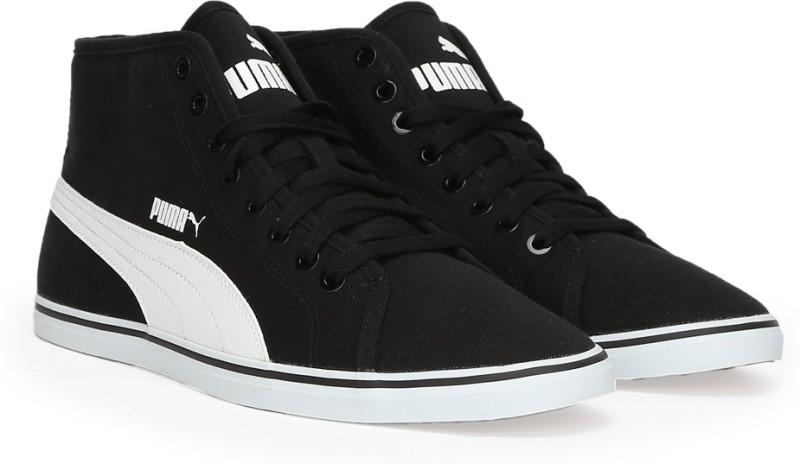 Puma Elsu v2 Mid CV IDP Mid Ankle Sneakers(Black)
