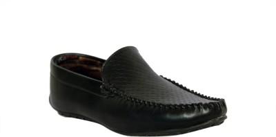 Trendystuff4u Black Loafers-051 Loafers