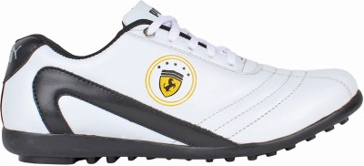 Qpark White Walking Shoes