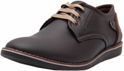 Black Tiger Men's Synthetic Leather Formal Shoes 088-Brown-7 Casuals