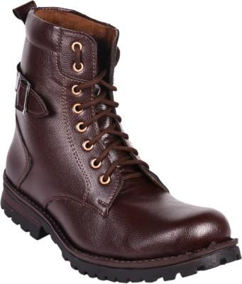 Gato Bad Boyz Brown Long Boots