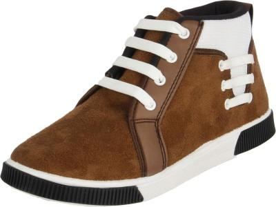 Vivaan Footwear Brown-205 Sneakers
