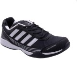 Porcupine Running Shoes (Black, White)