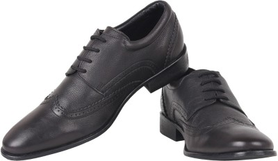 Zeta Textured Lace Up Shoes