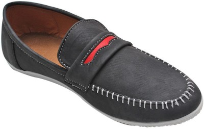 Parbat Fidail-DrkGry Loafers