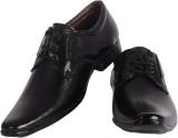 ShoeAdda Lace Up Shoes (Black)