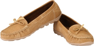 Real Blue Loafers(Beige)
