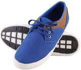 NE Shoes Canvas Shoes (Blue, Brown)