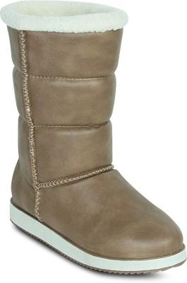 Get Glamr Designer Uggy Boots(Beige)