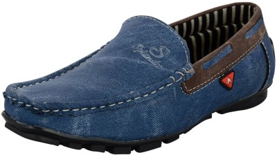 Zohran Blue Loafers