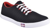 Crab Shoes Casuals (Black, Red)