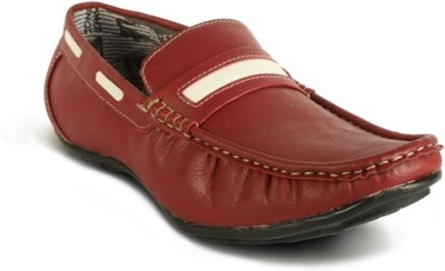 Calaso 202 Red Loafers