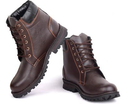 Musk Duck Brown Long Boots