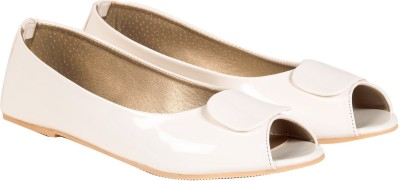 TEN White Patent Leather Bellies