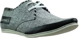 Dziner Grey, Black Casual Shoes (Grey)