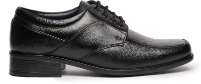 Feather Leather Genuine Leather Black Formal Shoes 042 Lace Up Shoes