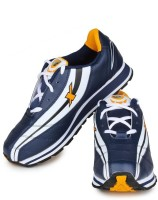 Sparx Running Shoes(Yellow, White, Navy)