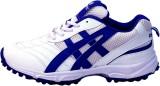 Zeefox Cricket Shoes (White, Blue)