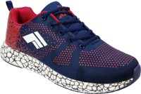 WBH Men Navy Running Shoes(Navy, Red)