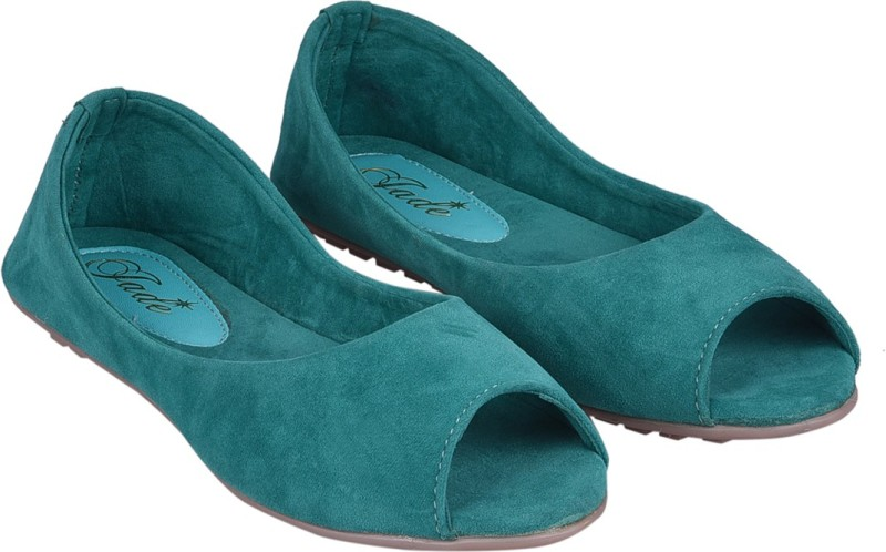 Jade Peeptoe Bellies(Green)