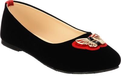 Calliebrown Callie brown trendy stylish butterfly black ballerinas Bellies